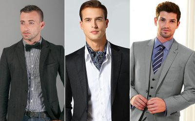 Different neckwear types for your suit