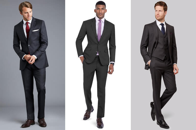 Why A Charcoal Grey Suit Is A Great Option