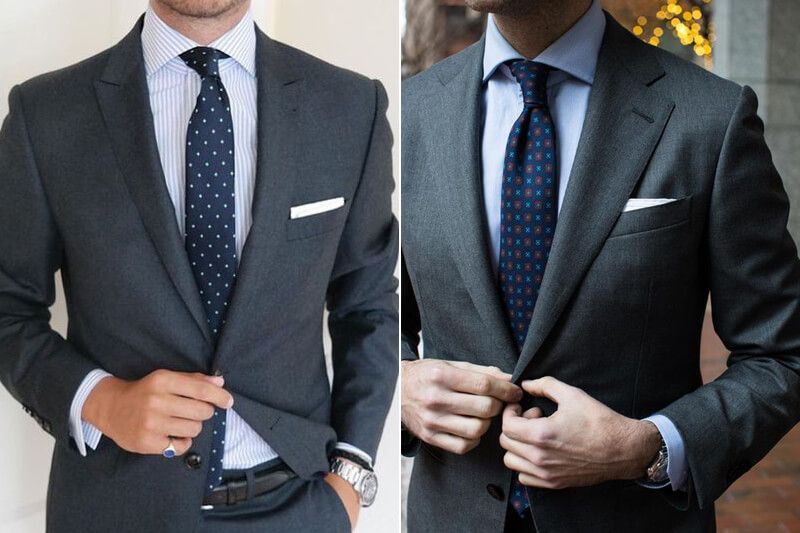 Charcoal Grey Suit Wedding Guest